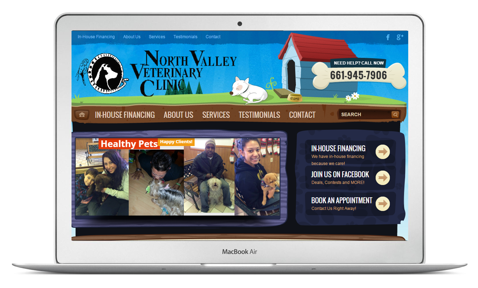 NorthValleyVeterinaryClinic.com