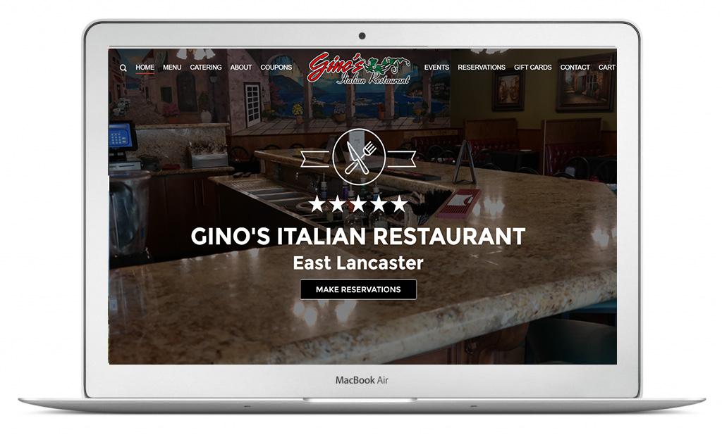 Ginos-Italian.com